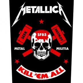 Metallica - Metal Militia (Backpatch)