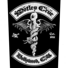 Motley Crue - Hollywood (Backpatch)