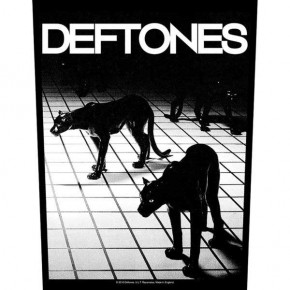 Deftones - Panther (Backpatch)