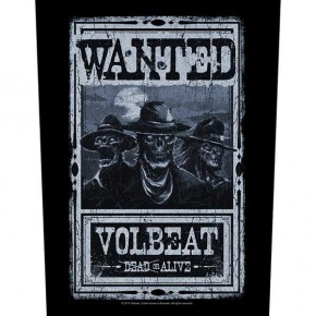 Volbeat - Wanted (Backpatch)