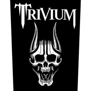 Trivium - Skull (Backpatch)