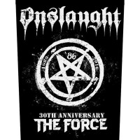 Onslaught - The Force 30th Anniversary (Backpatch)