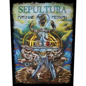 Sepultura - Machine Messiah (Backpatch)