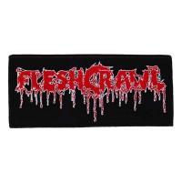 Fleshcrawl - Logo (Patch)