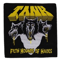 Tank - Filth Hounds Of Hades Black (Patch)