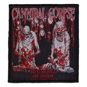 Cannibal Corpse - Butchered At Birth 2013 (Patch)