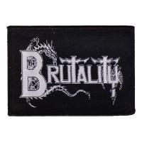 Brutality - Logo (Patch)