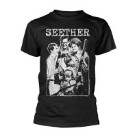 Seether - Happy Family (T-Shirt)