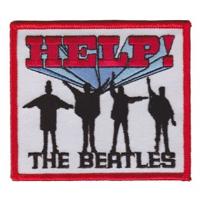 Beatles - Help Embroidered (Patch)