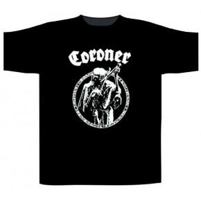 Coroner - Logo (T-Shirt)