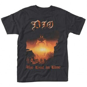 Dio - Last In Line Gold Logo (T-Shirt)