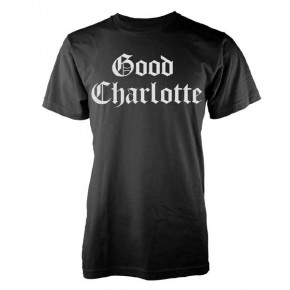 Good Charlotte - White Puff Logo (T-Shirt)