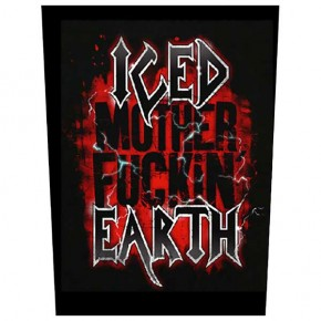 Iced Earth - Mother F***** (Backpatch)