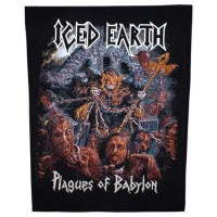 Iced Earth - Plagues Of Babylon (Backpatch)