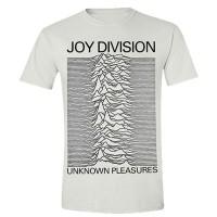 Joy Division - Unknown Pleasures White (T-Shirt)