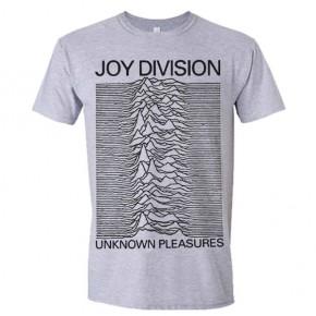 Joy Division - Unknown Pleasures Grey (T-Shirt)