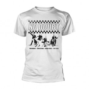 No Doubt - Chequer Distressed (T-Shirt)