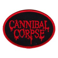 Cannibal Corpse - Embroidered Oval Logo (Patch)