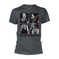 The Walking Dead - 4 Characters (T-Shirt)
