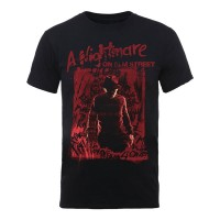 A Nightmare On Elm Street - Freddy Silhouette (T-Shirt)