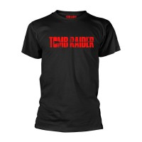 Tomb Raider - Logo (Black T-Shirt)
