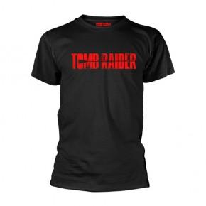 Tomb Raider - Logo (Black T-Shirt)