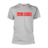 Tomb Raider - Logo (Grey T-Shirt)