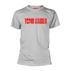 Tomb Raider - Logo (Grey T-Shirt)
