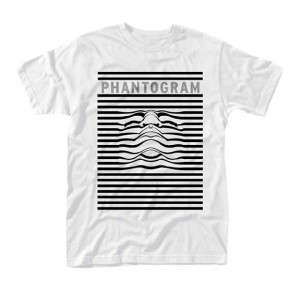 Phantogram - Striped Face (T-Shirt)