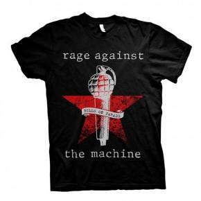 Rage Against The Machine - Bulls On Parade Mic (T-Shirt)