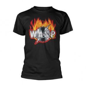 WASP - Sawblade Logo (T-Shirt)
