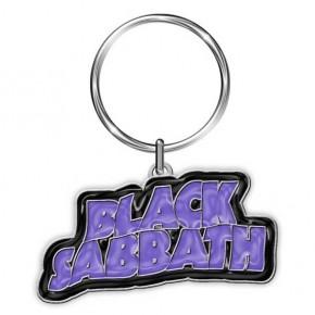 Black Sabbath - Purple Wavy Logo (Keyring)