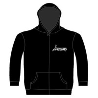 Venom - At War With Satan (Zipped Hooded Sweatshirt)