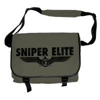 Sniper Elite - Black Logo (Messenger Bag)