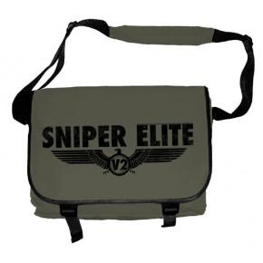 Sniper Elite - Black Logo (Messenger Bag)