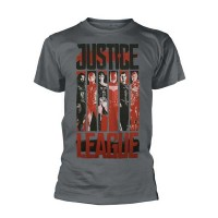 DC Comics Justice League - Striped Characters (T-Shirt)