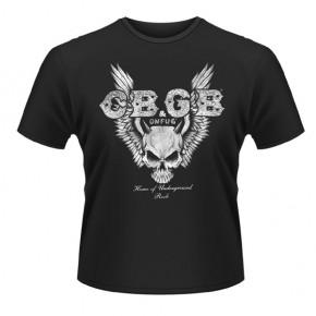 CBGB - Skull Wings (T-Shirt)
