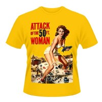 Attack Of The 50FT Woman - Yellow (T-Shirt)