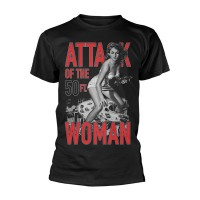 Attack Of The 50FT Woman - Black (T-Shirt)