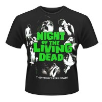 Night Of The Living Dead - Green Logo (T-Shirt)
