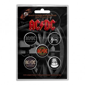 ACDC - For Those About To Rock (Badge Pack)