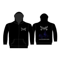 Mayhem - De Mysteriis Dom Sathanas Pocket (Zipped Hooded Sweatshirt)