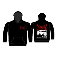 Mayhem - Deathcrush (Zipped Hooded Sweatshirt)