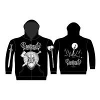 Ensiferum - Sword & Axe (Zipped Hooded Sweatshirt)