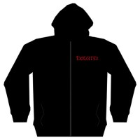 The Exploited - Bastard Skull (Zipped Hooded Sweatshirt)