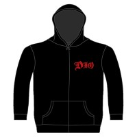 Dio - Holy Diver (Zipped Hooded Sweatshirt)