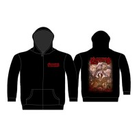 Kreator - Gods Of Violence (Zipped Hooded Sweatshirt)