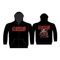 Kreator - Pleasure To Kill (Zipped Hooded Sweatshirt)