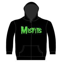 Misfits - Jarek Skull (Zipped Hooded Sweatshirt)