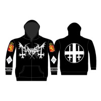 Mayhem - Legion Norge (Zipped Hooded Sweatshirt)